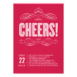 CHEERS! | HOLIDAY PARTY INVITATION