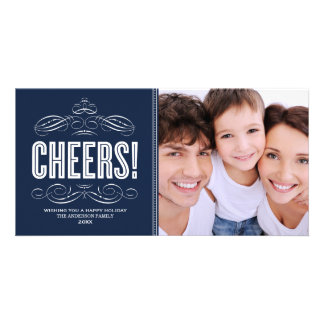CHEERS! | HOLIDAY PHOTO CARD