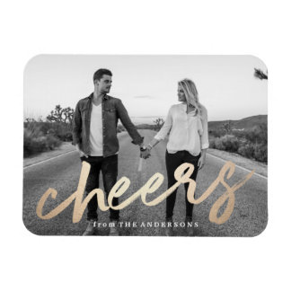 Cheers Luxe | Holiday Photo Magnet