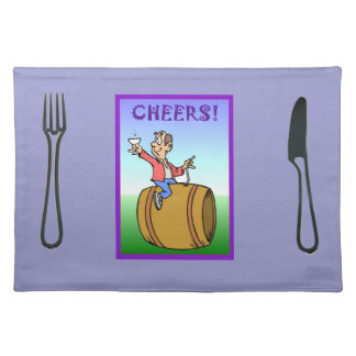 Cheers! Placemat