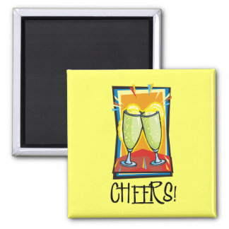 Cheers! Square Magnet