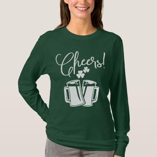 Cheers! St Patrick's Day Classic Irish Pub & Party T-Shirt