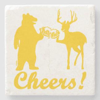 Cheers ! stone coaster