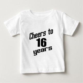 Cheers to 16 years t shirts