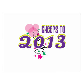 Cheers to 2013 postcards