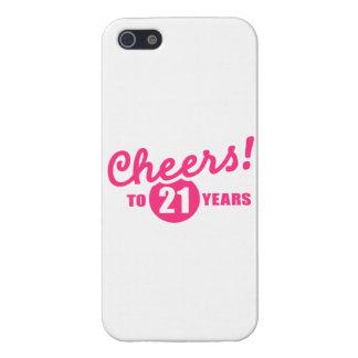 Cheers to 21 years birthday iPhone 5/5S case