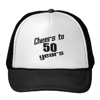 Cheers to 50 years cap