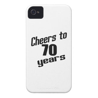 Cheers to 70 years Case-Mate iPhone 4 case