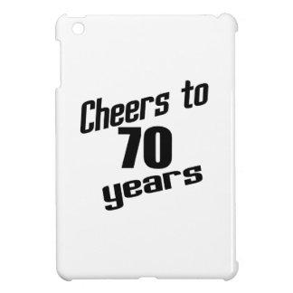 Cheers to 70 years iPad mini cover