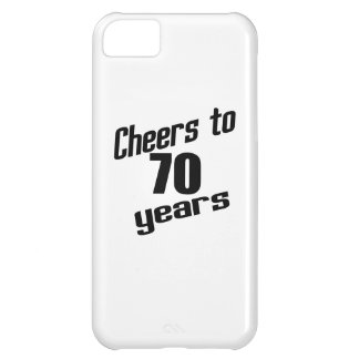 Cheers to 70 years iPhone 5C case