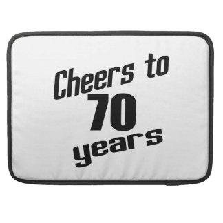 Cheers to 70 years MacBook pro sleeve