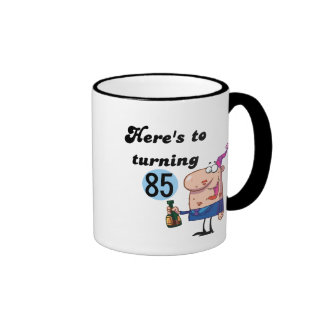 Cheers to 85 Birthday Tshirts and Gifts Mugs