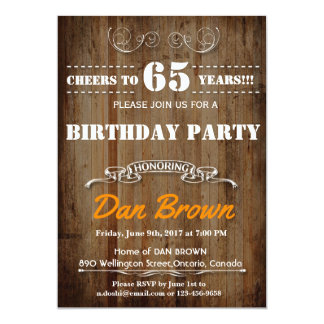 CHEERS TO….BIRTHDAY PARTY INVITATION FOR ANY AGE