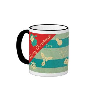 Cheers to Christmas Ringer Mug