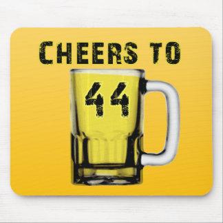 Cheers to Fourty Four Birthday Mousepad