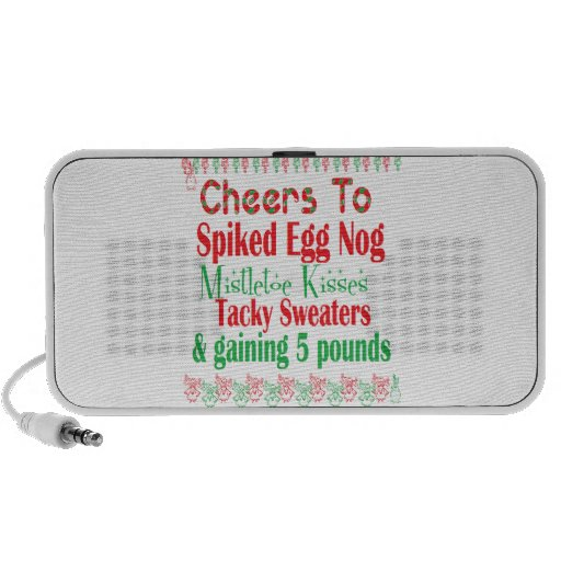 Cheers to Holiday iPod Speaker