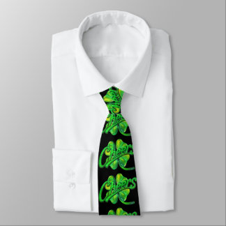 Cheers to Luck Tie