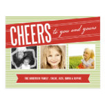 CHEERS TO YOU AND YOURS | HOLIDAY PHOTO CARD