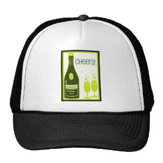 CHEERS VINTAGE CHAMPAGNE TOAST print Trucker Hat