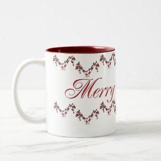Cheery CandyCanes Mug