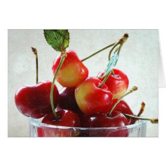 Cheery Cherries Recipe Card