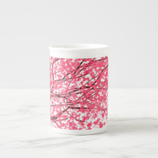 Cheery Cherry Blossoms Tea Cup