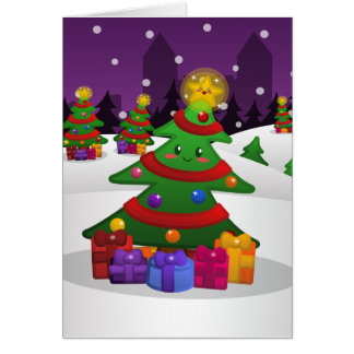 Cheery Christmas Tree Card