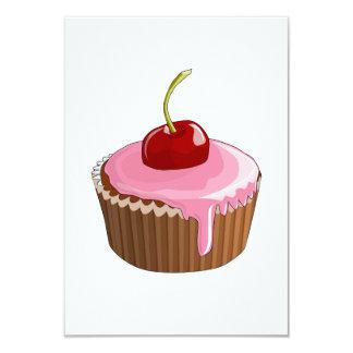 Cheery Cupcake Invitations