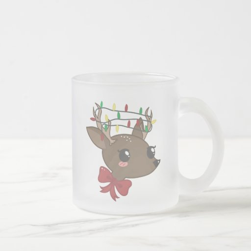 Cheery Deer Mug