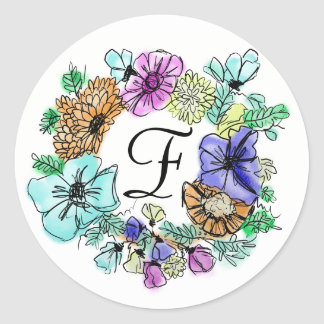 CHEERY FLOWER RING   stickers