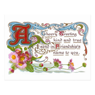 Cheery Friendship Postcard