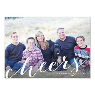 Cheery Sparkler Holiday Photo Card 13 Cm X 18 Cm Invitation Card