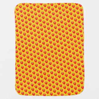 Cheery Strawberry Baby Blanket
