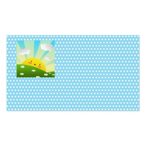 Cheery Sunrise Business Card