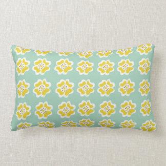 Cheery Yellow Flower Throw Pillow