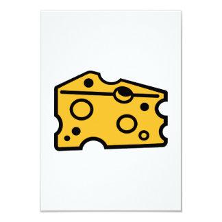 Cheese 9 Cm X 13 Cm Invitation Card