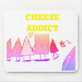 Cheese Addict Mouse Mat
