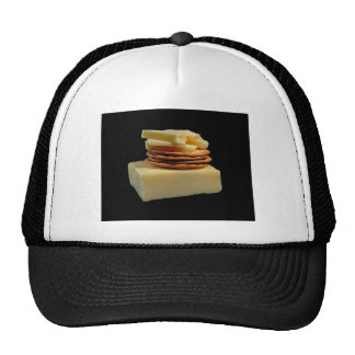 CHEESE AND CRACKERS SNACK - CHEESE SNACK MESH HATS