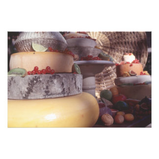 Cheese and fruit photo