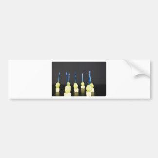 cheese and grape bumper sticker