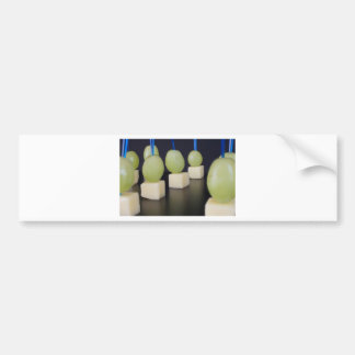 cheese and grapes bumper sticker