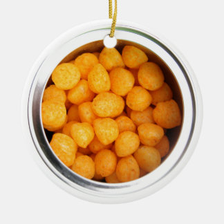 Cheese Balls Round Ceramic Decoration