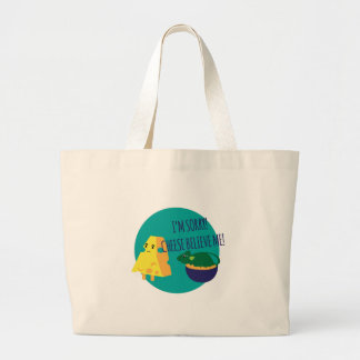 Cheese Believe Me Tote Bags