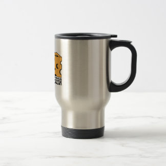 Cheese Connoisseur Stainless Steel Travel Mug