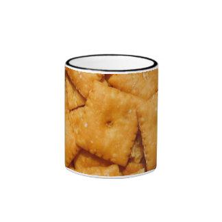 Cheese Crackers Coffee Mug