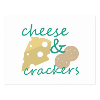 Cheese & Crackers Postcard