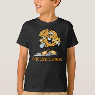Cheese Curds Kids Futsal Soccer Jersey T-Shirt