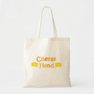 Cheese Fiend Canvas Bag