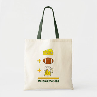 Cheese Football Beer Wisconsin Funny Equation