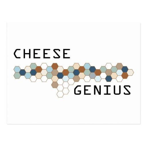 Cheese Genius Postcard